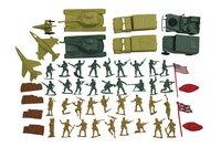 Set de jeu Army Toys 53 pièces-Avant