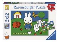 Ravensburger puzzel 2-in-1 Nijntje bij de dieren-Vooraanzicht