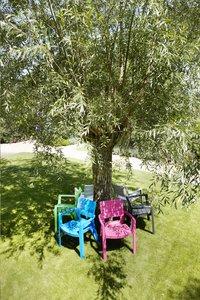 Allibert tuinstoel Ibiza grafietgrijs-Afbeelding 1