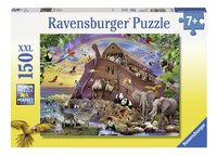 Ravensburger XXL puzzel Onderweg met de Ark-Vooraanzicht