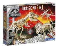 Clementoni Jurassic World - Fallen Kingdom Jurassic Kit 3-in-1-Linkerzijde