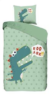 Good Morning Housse de couette Dino coton Lg 140 x L 220 cm-Avant