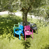 Allibert tuinstoel Ibiza cappuccino-Afbeelding 1