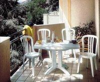 Grosfillex Chaise de jardin Miami blanc-Image 2