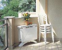 Grosfillex Chaise de jardin Miami blanc-Image 3