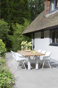 Hartman Table de jardin Yasmani vintage brown/blanc L 240 x Lg 100 cm-Image 2