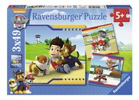 Ravensburger puzzel 3-in-1 PAW Patrol-Vooraanzicht