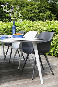 Hartman Table de jardin Sophie Studio blanc L 240 x Lg 100 cm-Image 2
