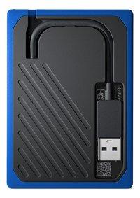 WD disque dur externe My Passport Go 500 Go noir/bleu-Arrière