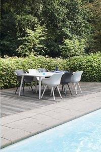 Hartman Table de jardin Sophie Studio blanc L 240 x Lg 100 cm-Image 3