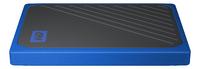 WD disque dur externe My Passport Go 500 Go noir/bleu-Détail de l'article