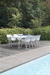 Hartman Table de jardin Sophie Studio blanc L 240 x Lg 100 cm-Image 4