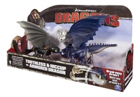 Set Dragons Toothless & Hiccup vs. Armored Dragon bleu-Côté droit