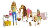 Barbie avec chevaux et Chelsea-commercieel beeld