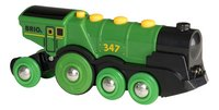 BRIO World 33593 Locomotive verte puissante à piles-Avant