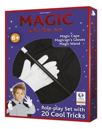 Boîte de magie avec accessoires
