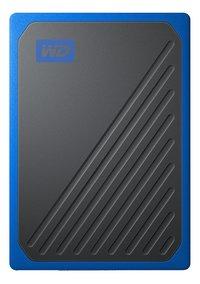 WD disque dur externe My Passport Go 500 Go noir/bleu-Avant