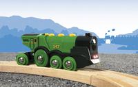 BRIO World 33593 Locomotive verte puissante à piles-Image 1