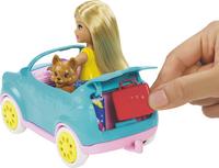 Barbie speelset Chelsea met caravan-Afbeelding 1