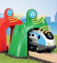 BRIO World 33834 Smart Tech Locomotive intelligente et portiques-Image 1