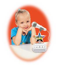 Micro sur pied Duet disco karaoke-Image 1
