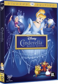 Dvd Disney Assepoester - Diamond Edition-Linkerzijde