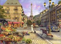 Ravensburger puzzel Wandeling door Parijs-Vooraanzicht