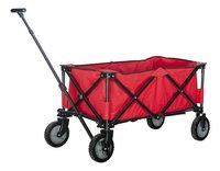 Campman Chariot pliant rouge-commercieel beeld