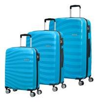 American Tourister set van 3 harde trolleys Oceanfront Spring Blue-Vooraanzicht