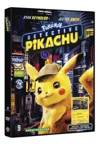 DVD Pokémon Détective Pikachu + 1 carte Pokémon-Côté gauche