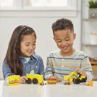 Play-Doh Wheels Graafmachine en bulldozer-Afbeelding 3