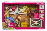 Barbie avec chevaux et Chelsea-Avant