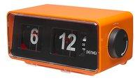 Denver radio-réveil rétro CR-425 orange-Côté droit