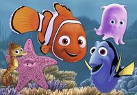 Ravensburger puzzel 2-in-1 Disney Finding Nemo Nemo is ontsnapt-Vooraanzicht