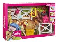 Barbie avec chevaux et Chelsea-Côté gauche