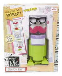 Project Mc² speelset Soda Can Robot Kit-Vooraanzicht