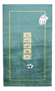 Tapis de poker 150 x 75 cm vert