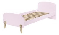 Kiddy bed roze-Rechterzijde