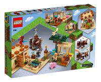 LEGO Minecraft 21160 L'attaque des illageois-Arrière