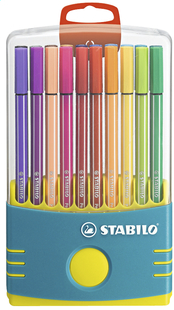 STABILO viltstift Pen 68 Color Parade turkoois - 20 stuks