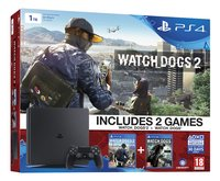 PS4 console New 1 TB + Watch dogs 1 en Watch dogs 2