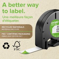 Dymo navulling voor labelprinter Letratag Blue Plastic-Artikeldetail