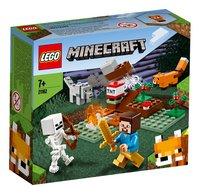 LEGO Minecraft 21162 Aventures dans la taïga-Côté gauche