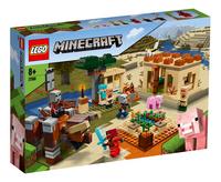LEGO Minecraft 21160 L'attaque des illageois-Côté gauche