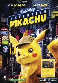 DVD Pokémon Détective Pikachu + 1 carte Pokémon-Avant