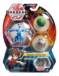 Bakugan Starter 3-Pack - Serpenteze-Vooraanzicht