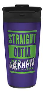 Travel Mug The Joker Straight Outta Arkham-Achteraanzicht