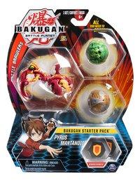 Bakugan Starter 3-Pack - Pyrus Mantanoid-Vooraanzicht