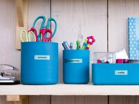 Dymo navulling voor labelprinter Letratag Blue Plastic-Afbeelding 2