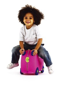 Trunki trolley TrunkiRide-on Trixie roze-Afbeelding 1